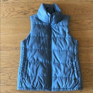 Heather Gray Puffy Vest